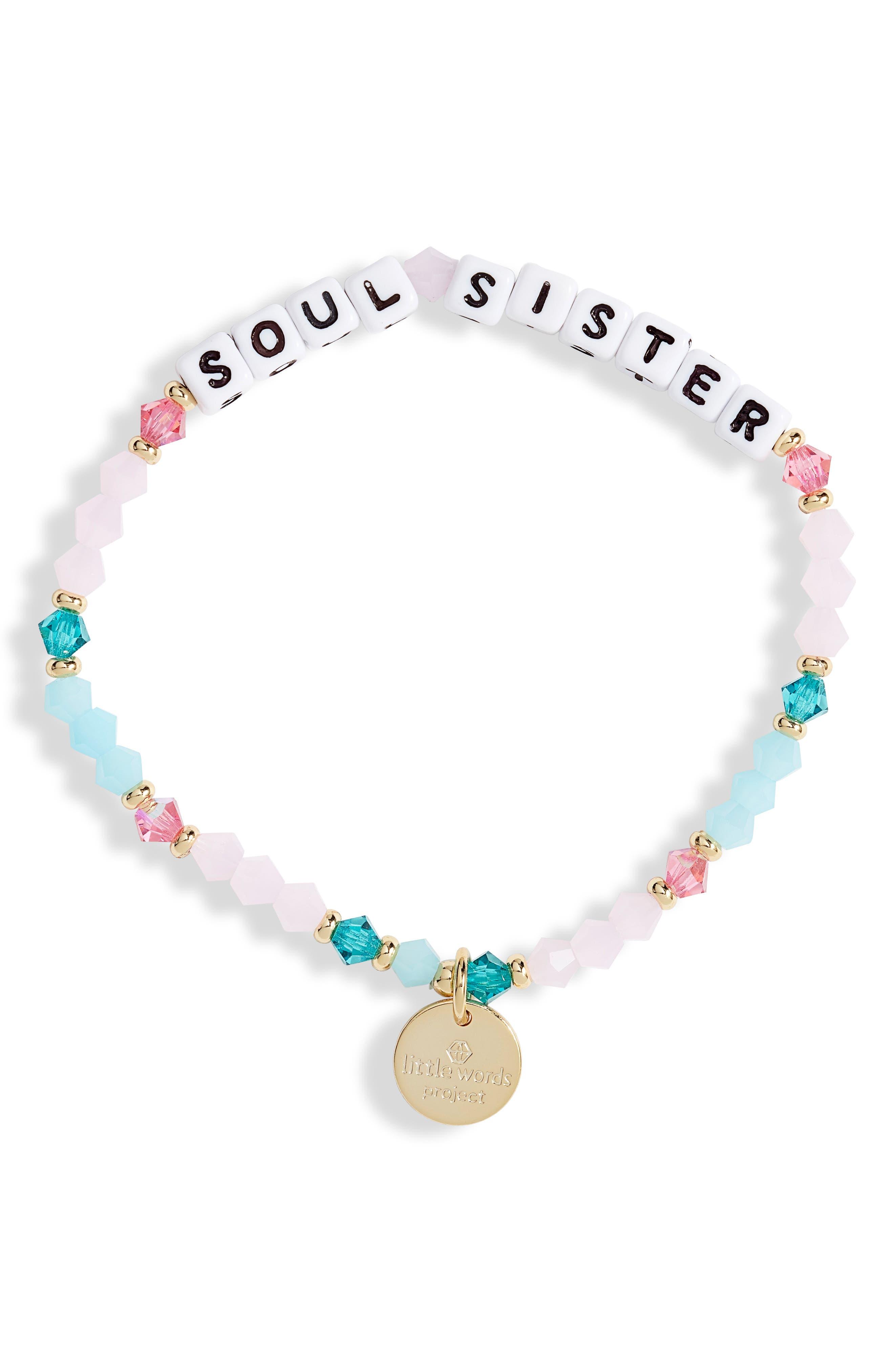Soul Sister Beaded Stretch Bracelet