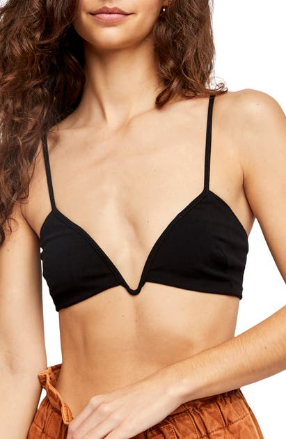 Free People INTIMATELY FP SURI STRETCH WOVEN BRALETTE