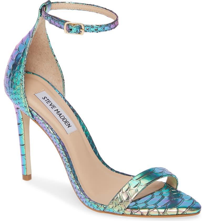 STEVE MADDEN Sane Ankle Strap Sandal, Main, color, 440