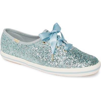 Keds X Kate Spade New York Glitter Sneaker, Blue/green