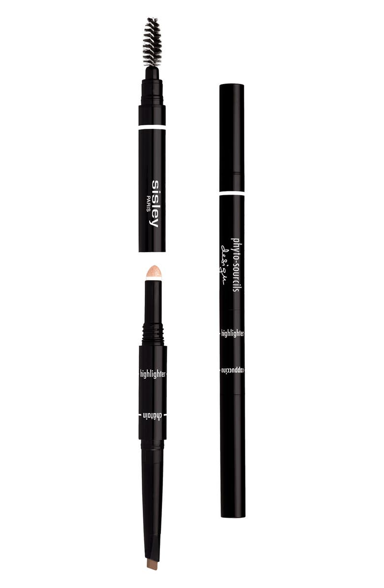 SISLEY PARIS Phyto-Sourcils Design 3-in-1 Eyebrow Pencil, Main, color, CHATAIN
