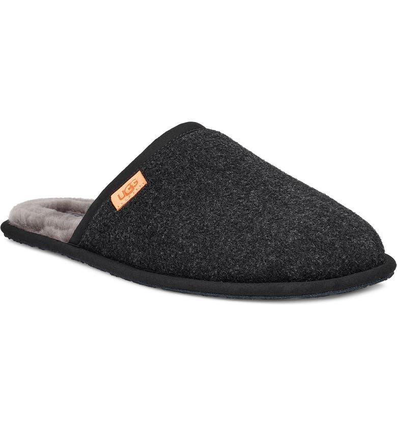 UGG<SUP>®</SUP> Scuff Slipper, Main, color, BLACK