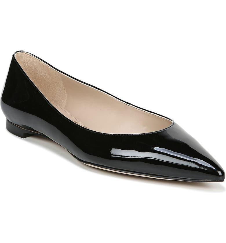 SAM EDELMAN Sally Flat, Main, color, BLACK PATENT LEATHER