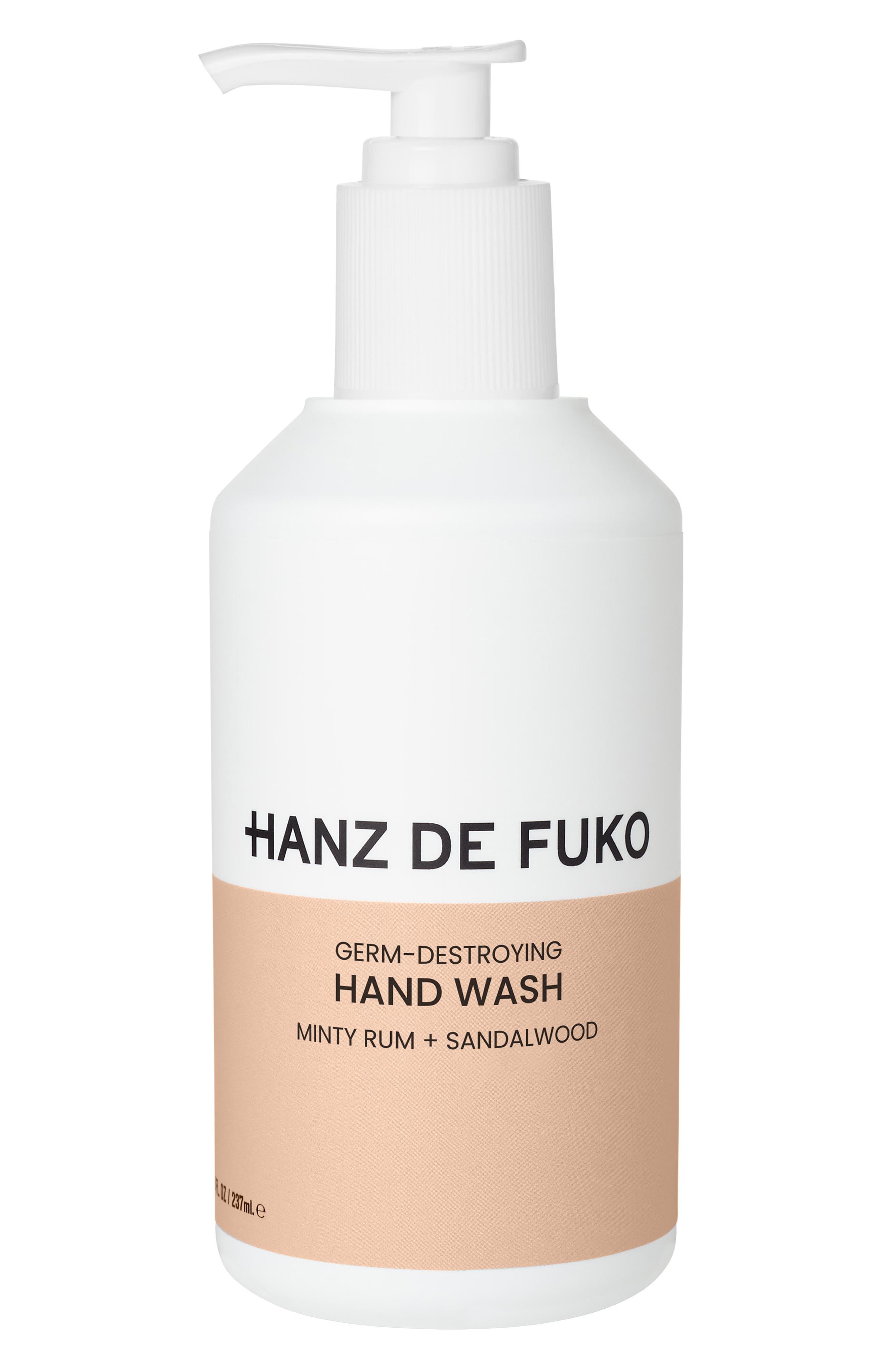 Germ-Destroying Hand Wash