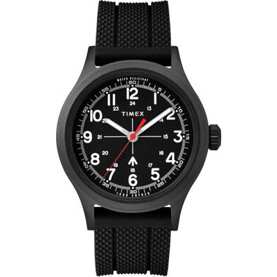 Timex X Todd Snyder The Military Silicone Strap Watch, 40Mm