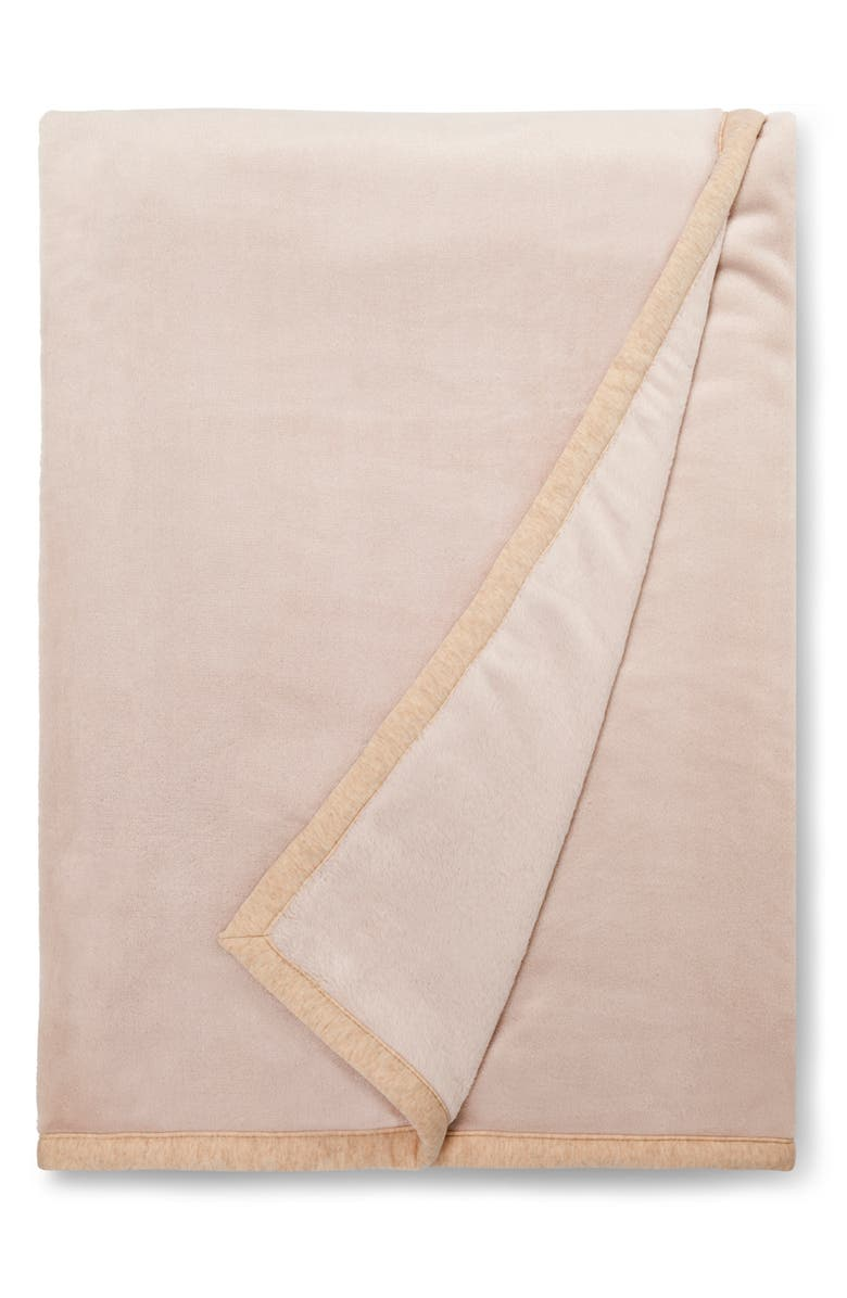 UGG<SUP>®</SUP> Duffield II Throw Blanket, Main, color, OATMEAL HEATHER