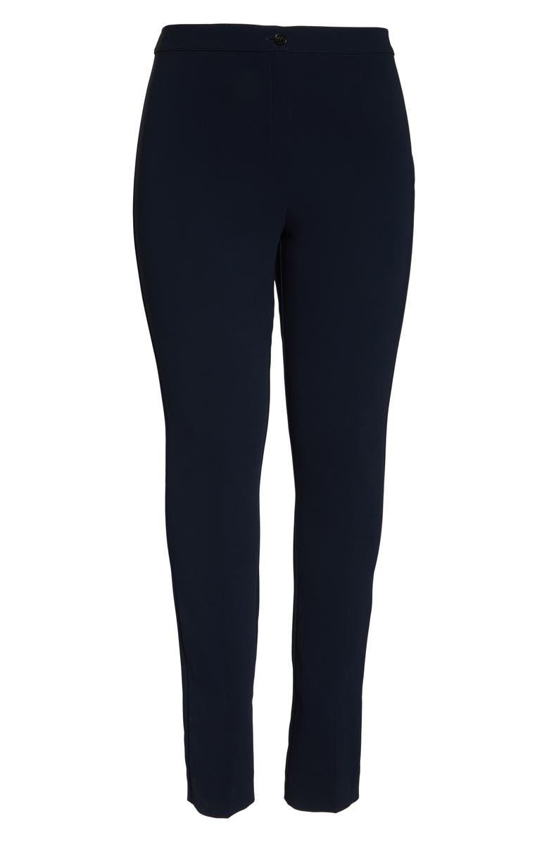 MARINA RINALDI Realta Classic Straight Leg Pants, Main, color, 411