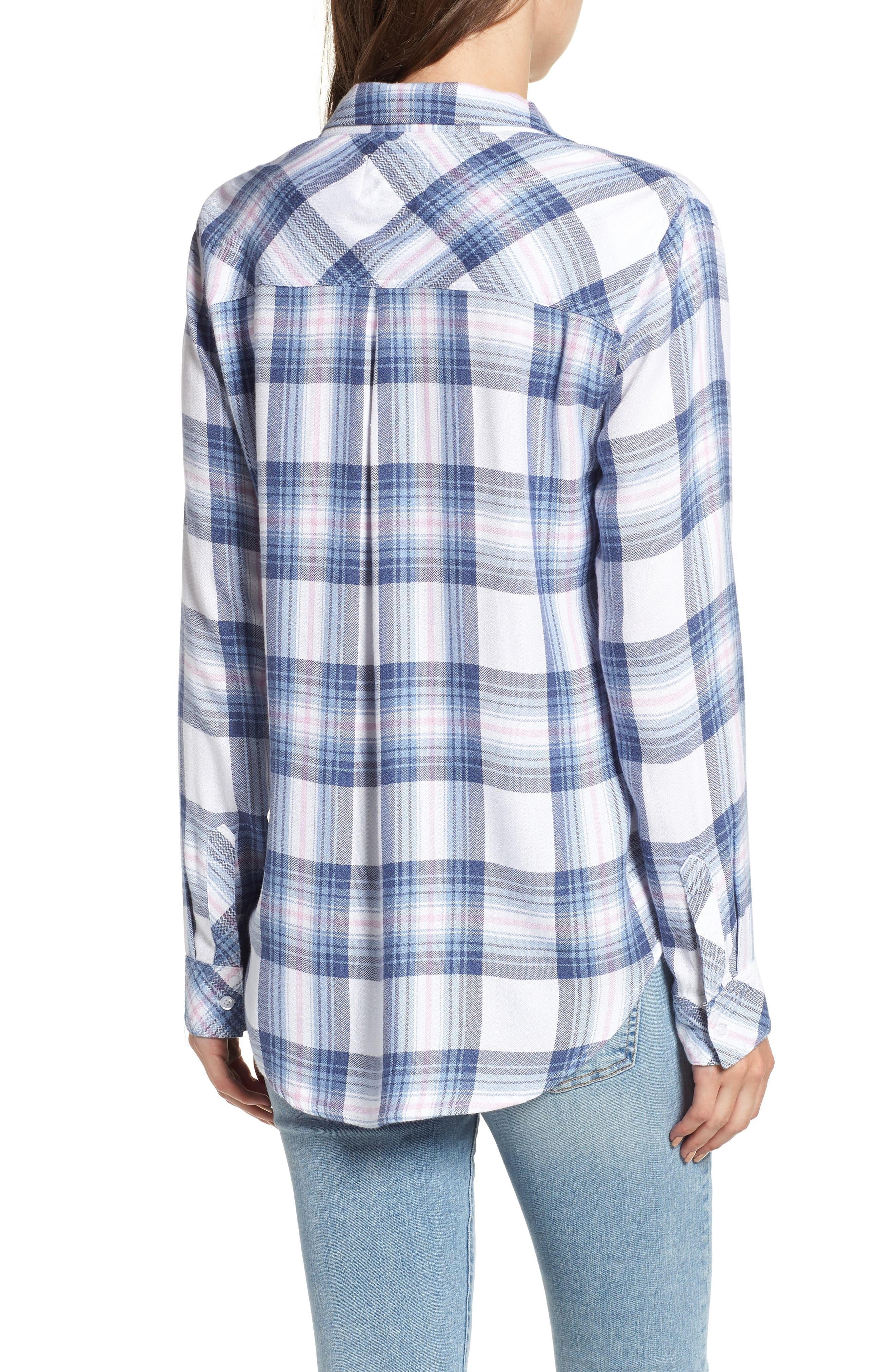 ,                             Hunter Plaid Shirt,                             Alternate thumbnail 823, color,                             435