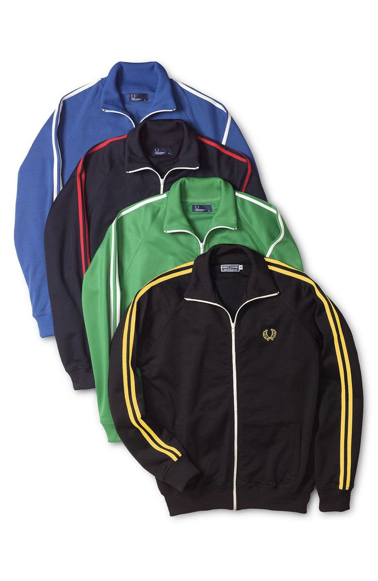 FRED PERRY Track Jacket, Main, color, 150