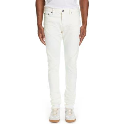 John Elliott The Cast 2 Slim Fit Jeans, White