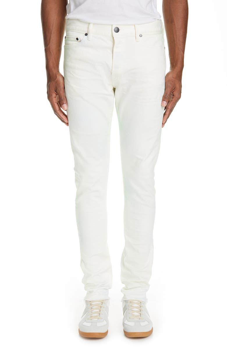 JOHN ELLIOTT The Cast 2 Slim Fit Jeans, Main, color, SOUR SKITTLES