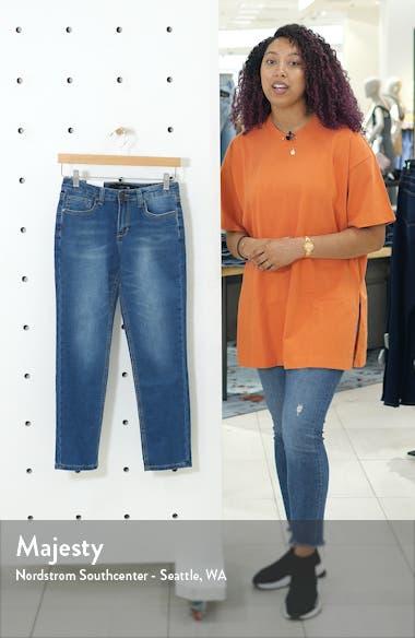 Brixton Straight Leg Knit Denim Jeans, sales video thumbnail
