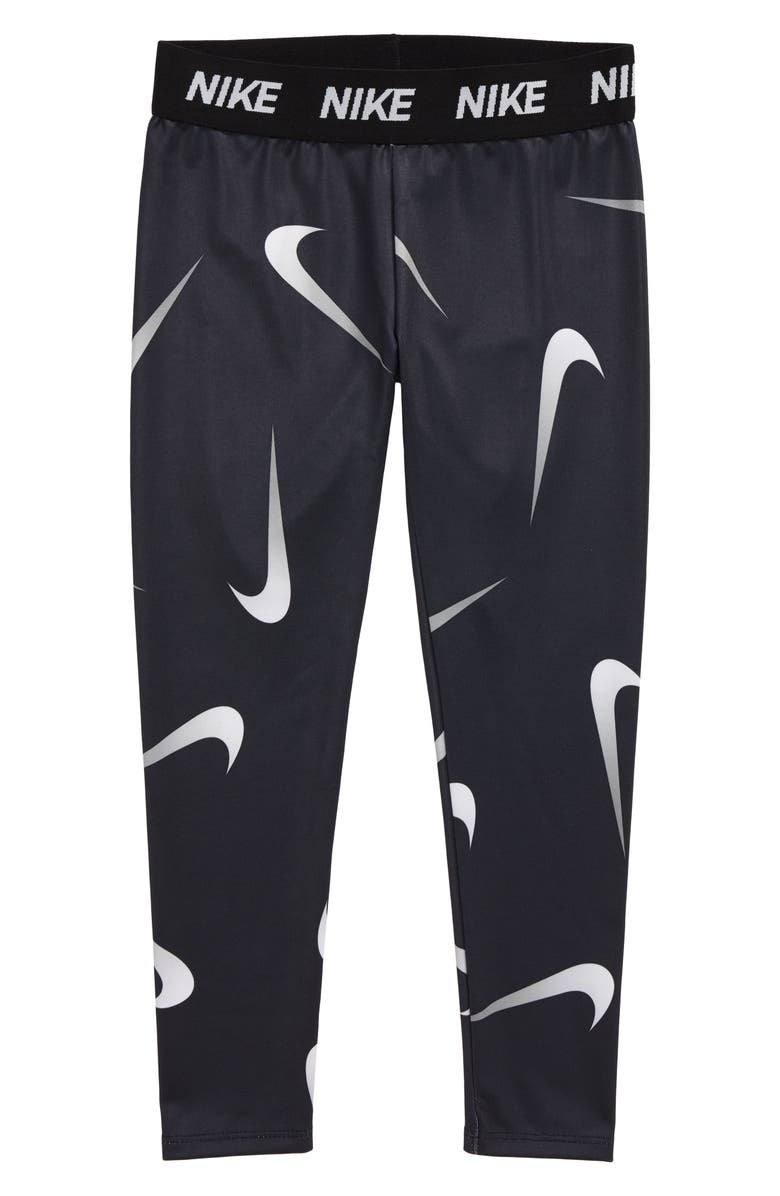 NIKE Party Dri-FIT Leggings, Main, color, BLACK