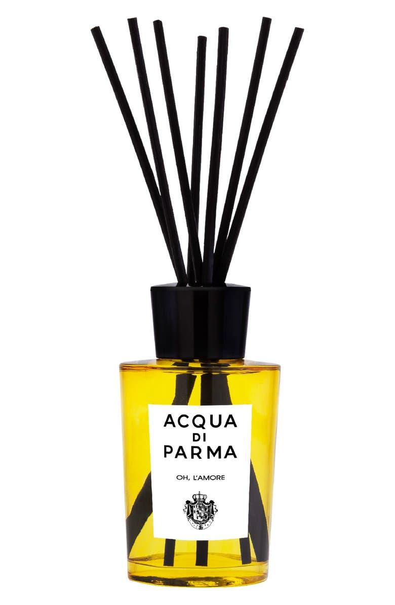 ACQUA DI PARMA Oh L'Amore Fragrance Diffuser, Main, color, NO COLOR