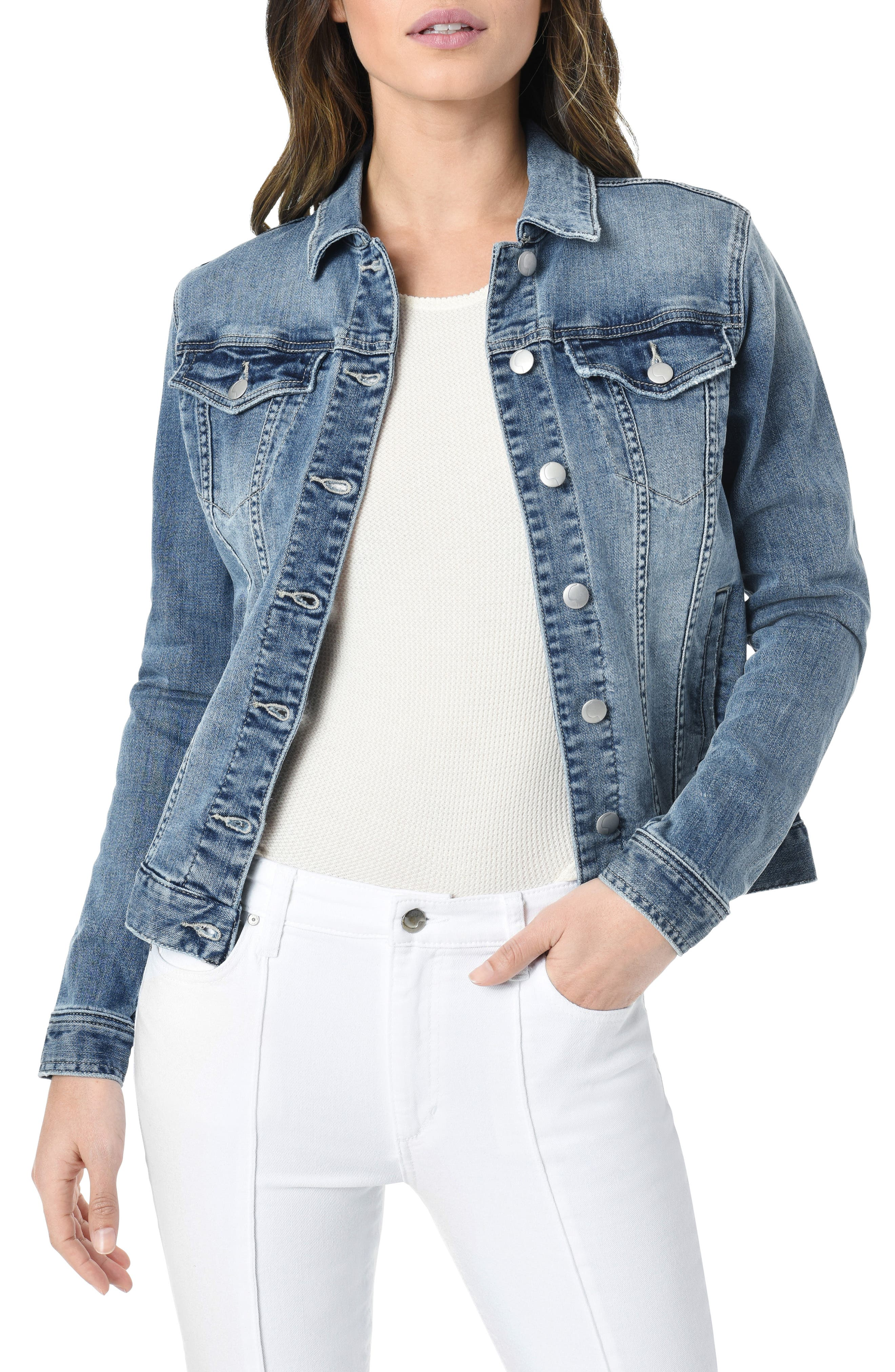 The Relaxed Denim Jacket