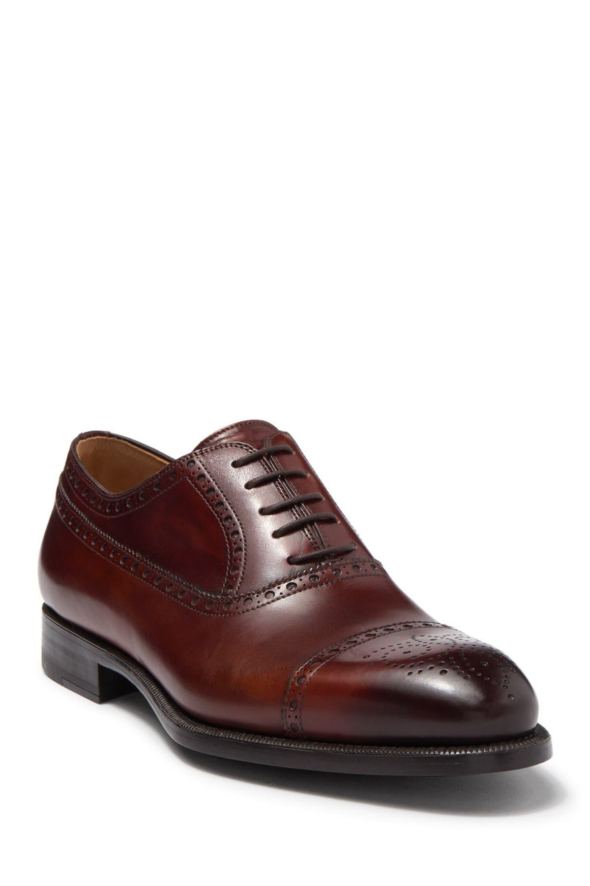 Magnanni | Seton Leather Cap Toe Oxford