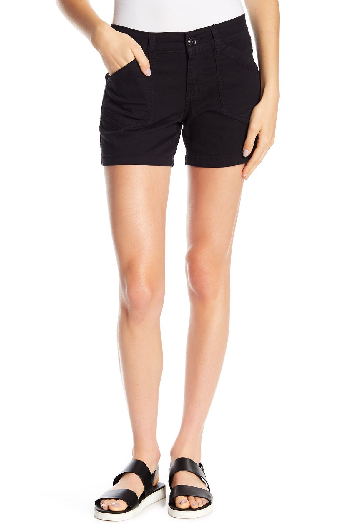 Image of SUPPLIES BY UNIONBAY Alix Stretch Twill Shorts