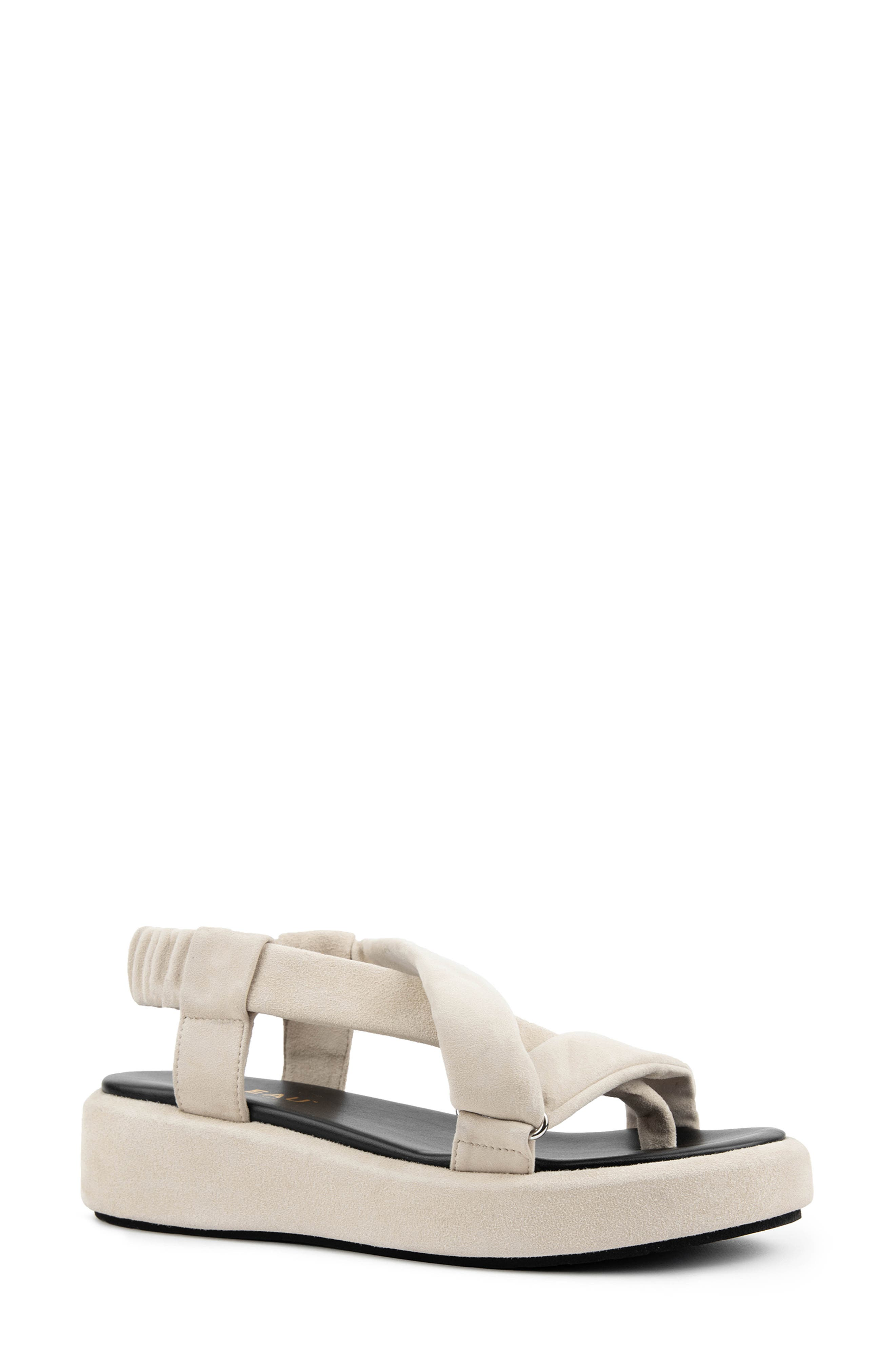Zanita Waterproof Platform Sandal