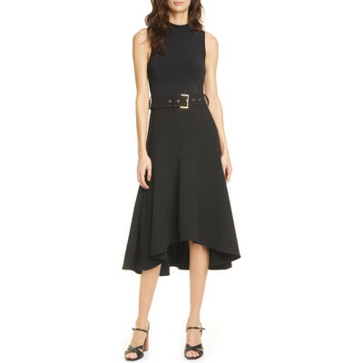 Ted Baker London Corvala High/low Dress, Black
