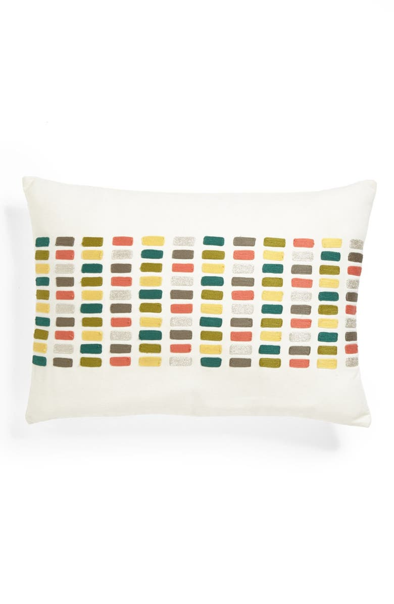 NORDSTROM at Home 'Cleo' Pillow, Main, color, CREAM TURTLEDOVE MULTI