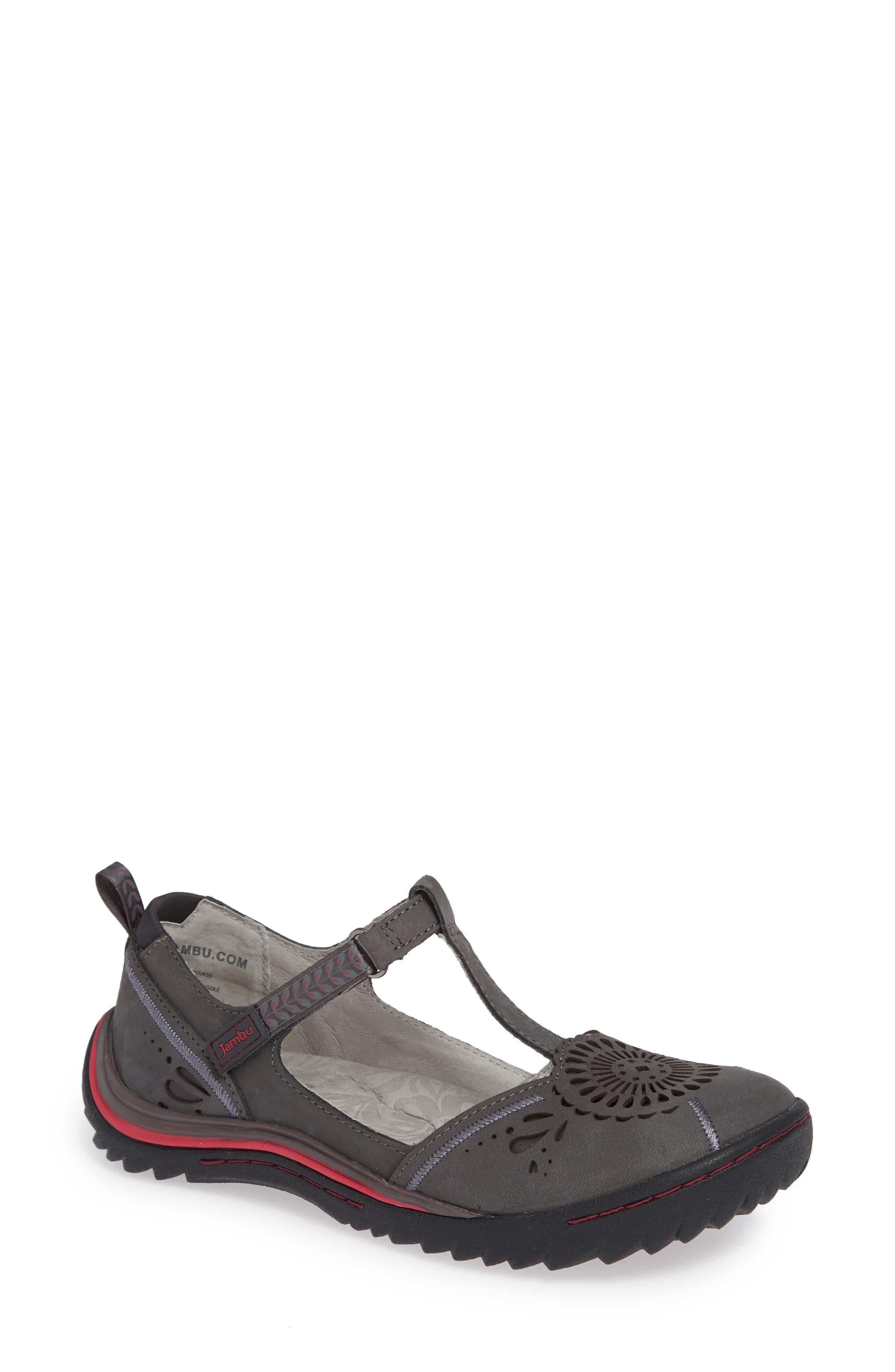 Jambu Sunkist Strappy Sneaker, Grey