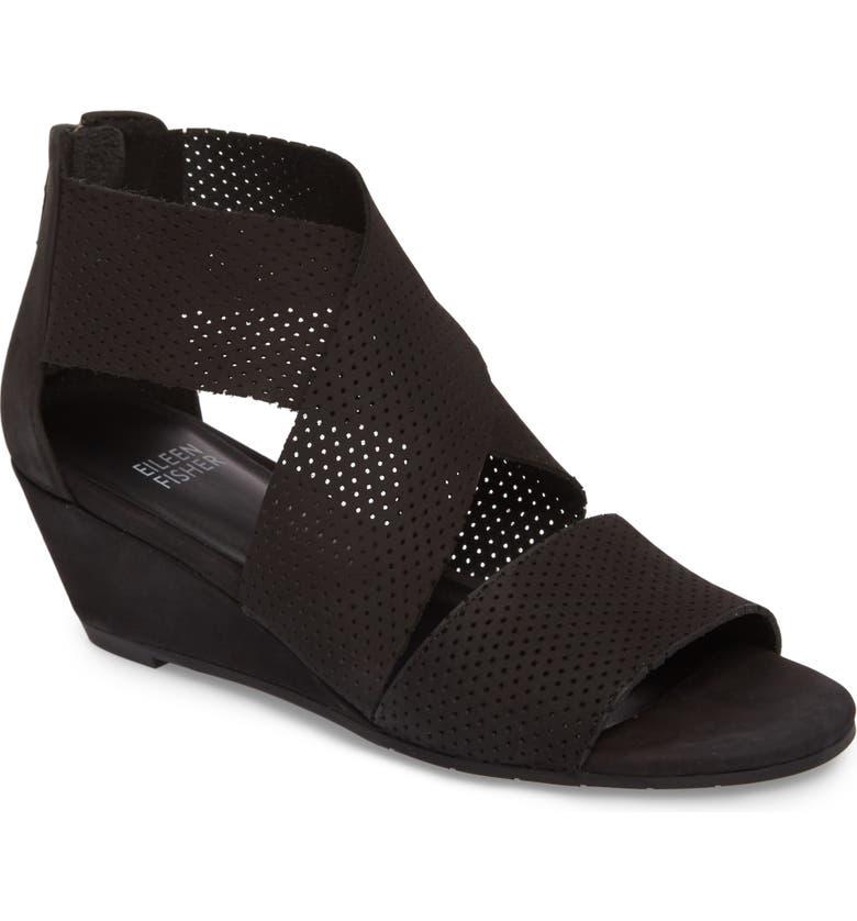 78b1219c11c0 Eileen Fisher Kes Wedge Sandal (Women) | Nordstrom
