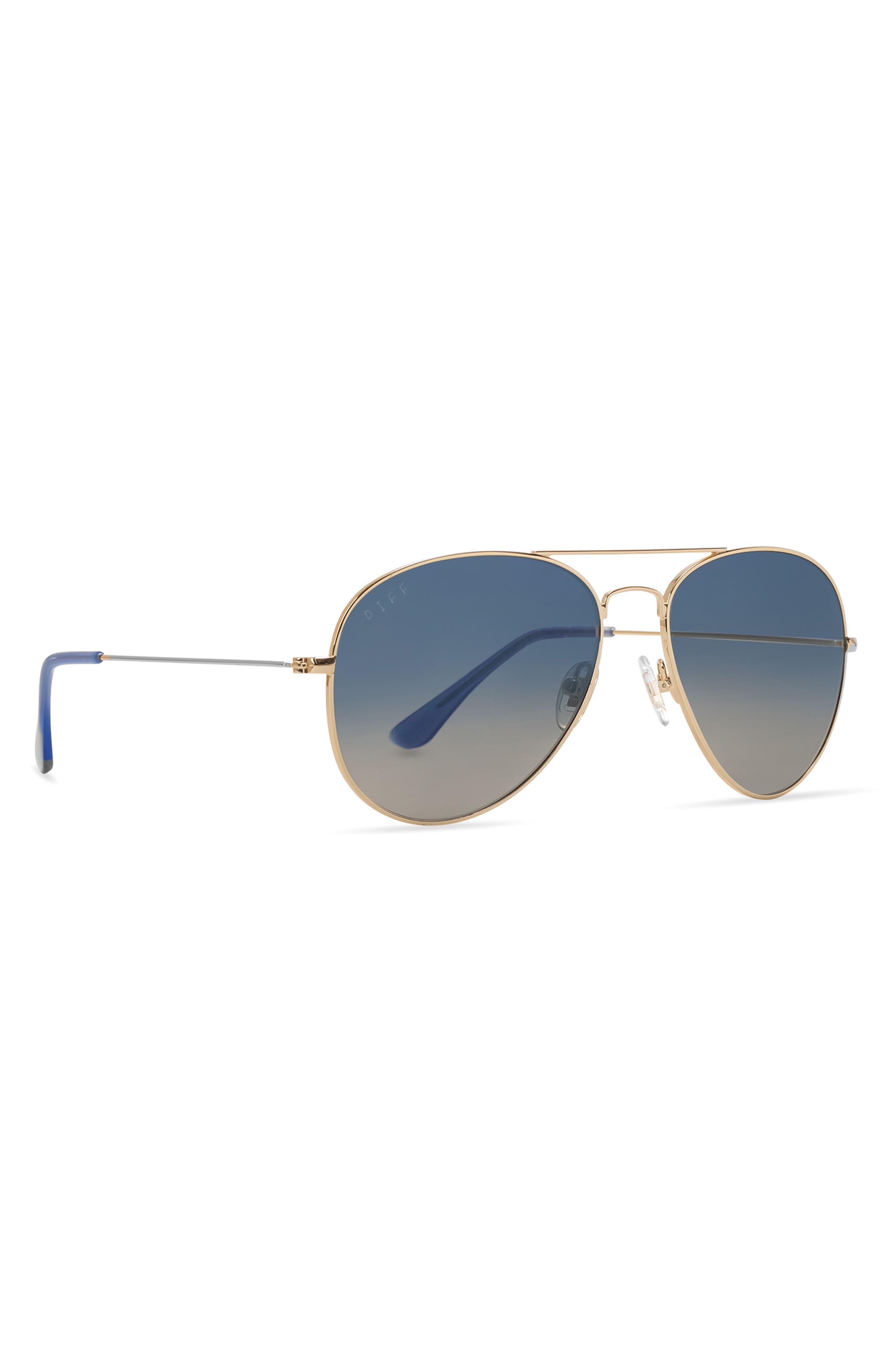Cruz 49mm Aviator Sunglasses