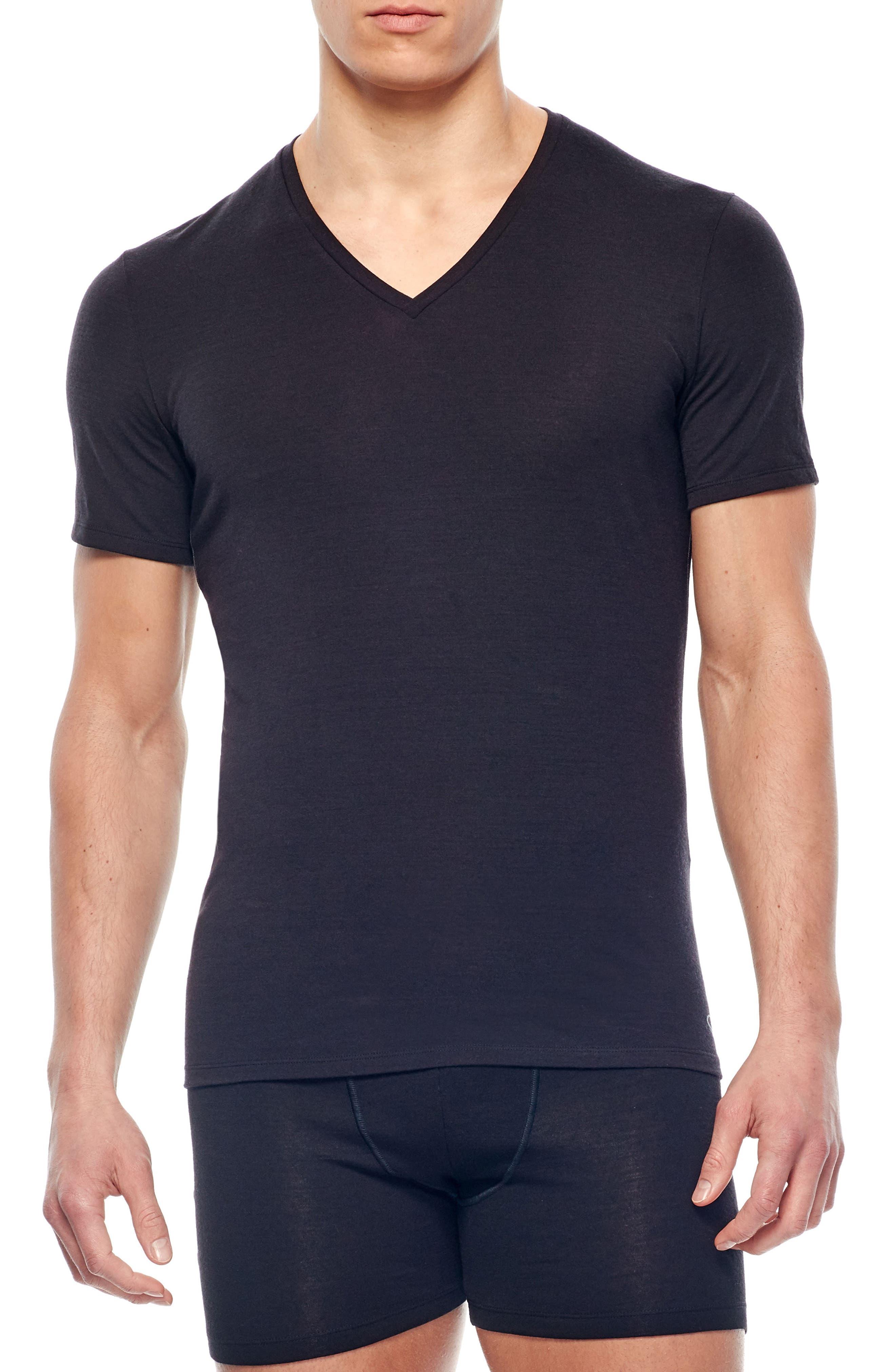Anatomica Short Sleeve V-Neck T-Shirt