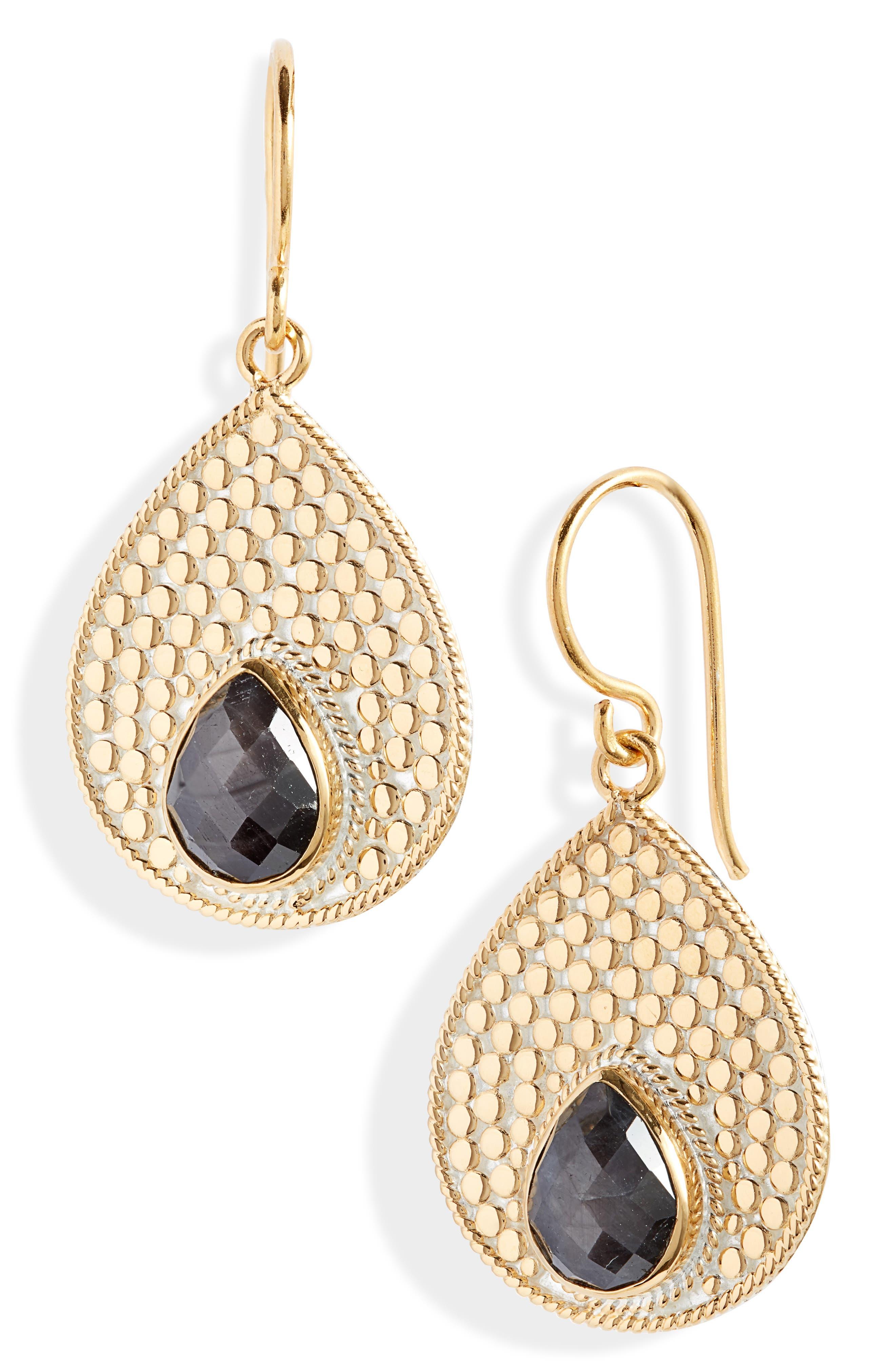Medium Stone Teardrop Earrings (Nordstrom Exclusive)