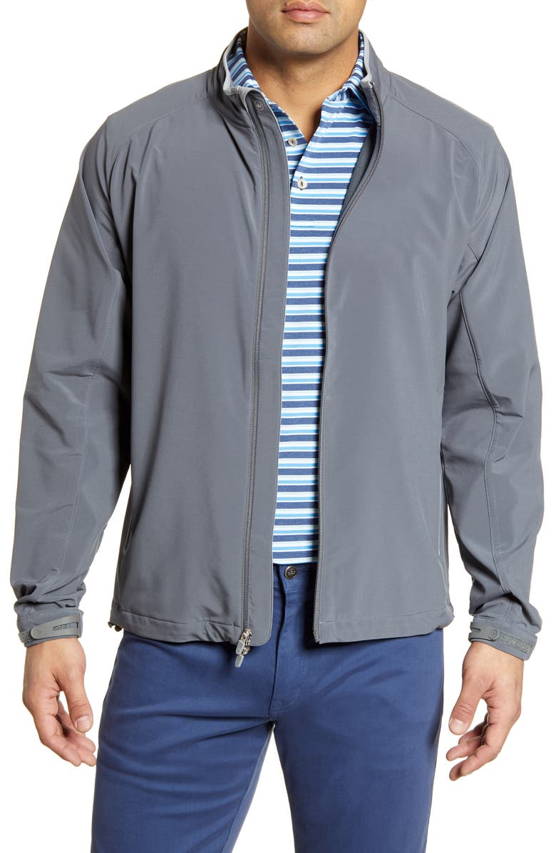 PETER MILLAR Zephyr Jacket, Main, color, IRON