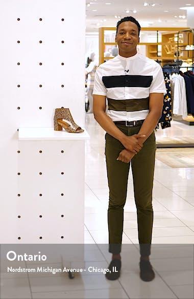 Charlene Peep Toe Sandal, sales video thumbnail