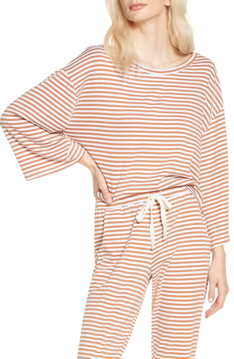 EBERJEY Quincy Icon Pajama Top, Main, color, 250
