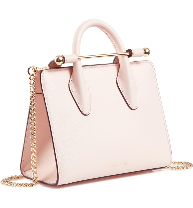 STRATHBERRY Nano Leather Tote, Main, color, 650