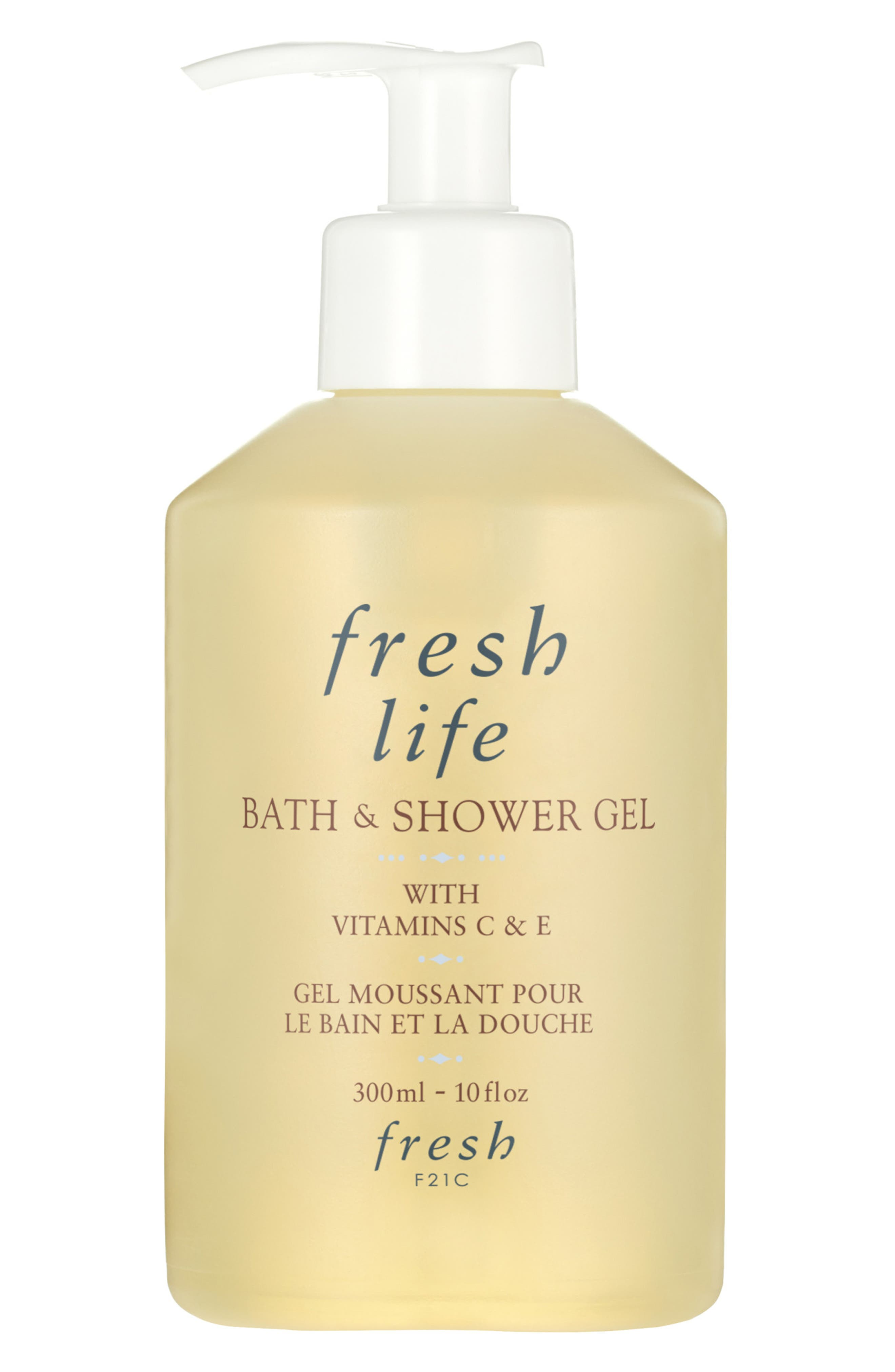 What it is: An invigorating shower gel with nourishing shea butter and vitamins C and E to gently cleanse the skin. What it does: This foaming shower gel is enriched with citrus fruit extracts, nourishing shea butter and vitamins C and E to gently cleanse and revitalize your skin. How to use: Apply to wet skin, lather, then rinse. Style Name: Fresh Life Bath & Shower Gel. Style Number: 5934278. Available in stores.