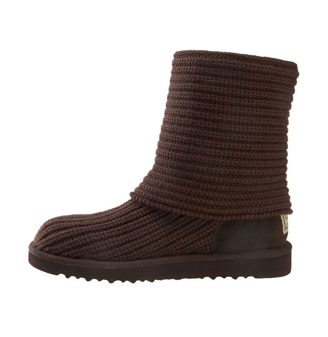 ,                             'Cardy' Classic Knit Boot,                             Alternate thumbnail 22, color,                             207