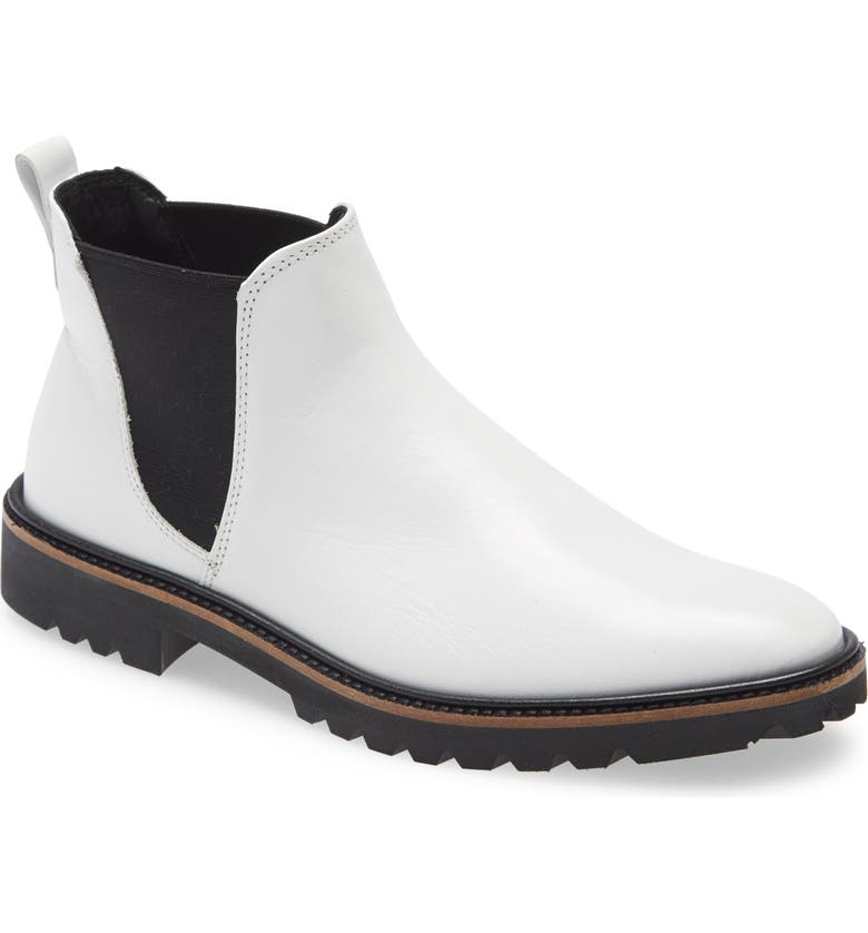 ECCO Incise Tailored Chelsea Boot, Main, color, 100