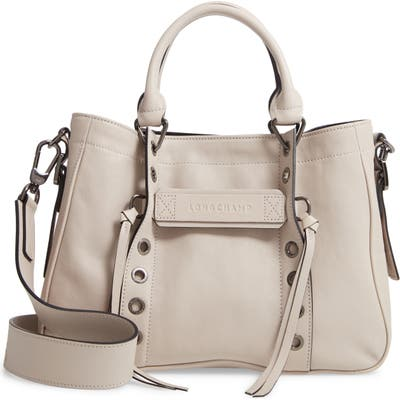 Longchamp 3D Rock Leather Tote -