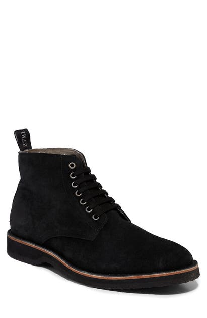 Allsaints Suedes MATHIS PLAIN TOE BOOT