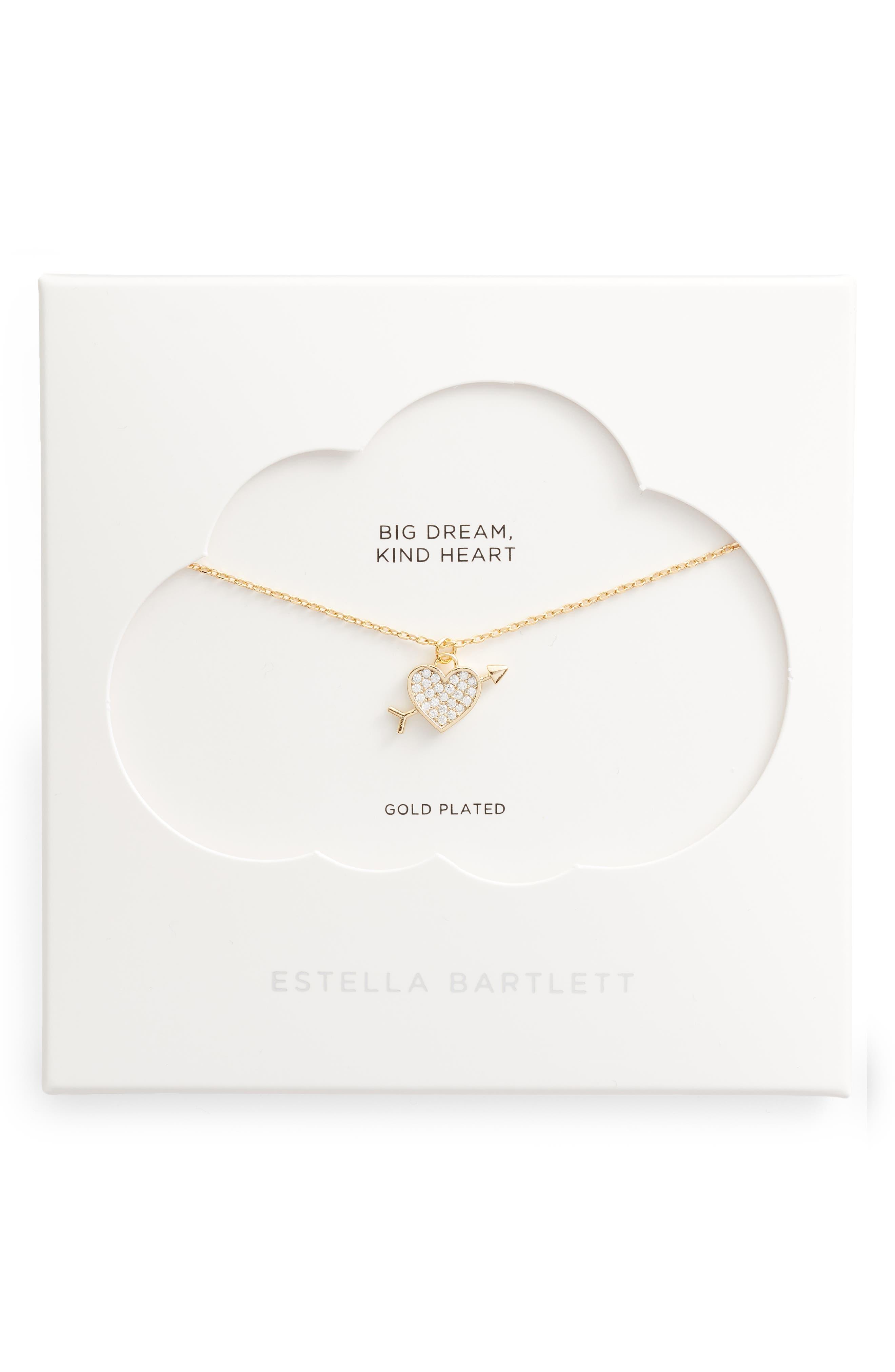 Lovestruck Pave Pendant Necklace