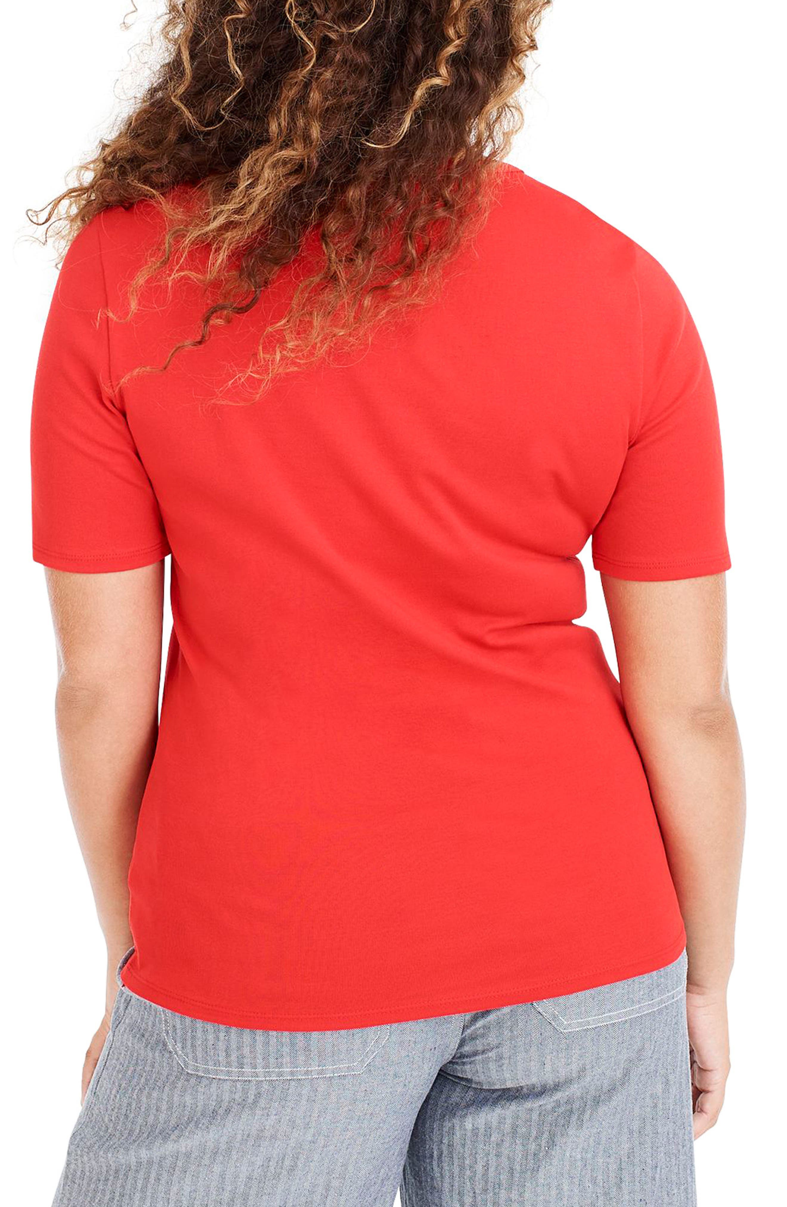 ,                             New Perfect Fit Tee,                             Alternate thumbnail 46, color,                             600