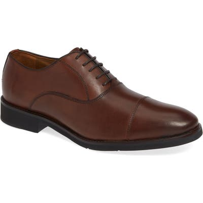 Johnston & Murphy Carlson Cap Toe Oxford W - Brown