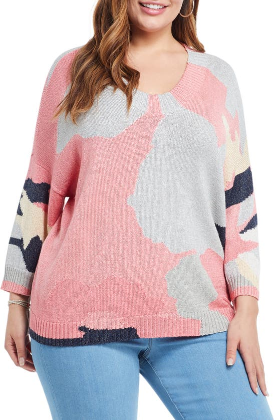 Nic + Zoe CITRUS SPLASH SWEATER