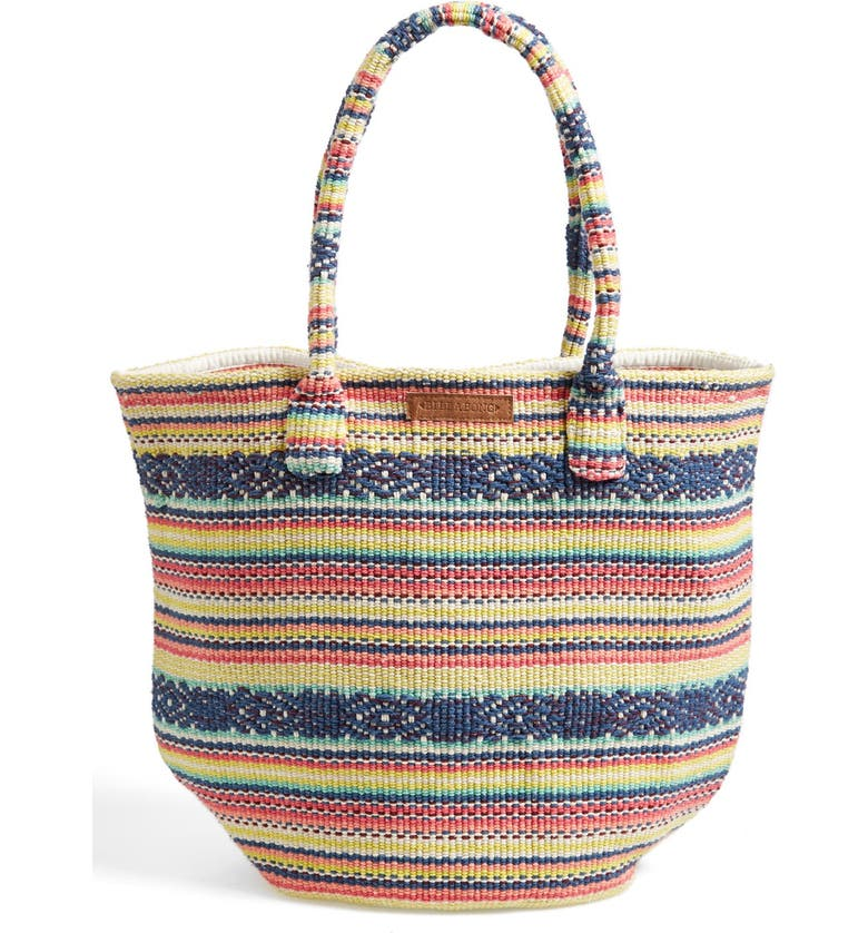 BILLABONG 'Even Waves' Woven Beach Tote, Main, color, 903