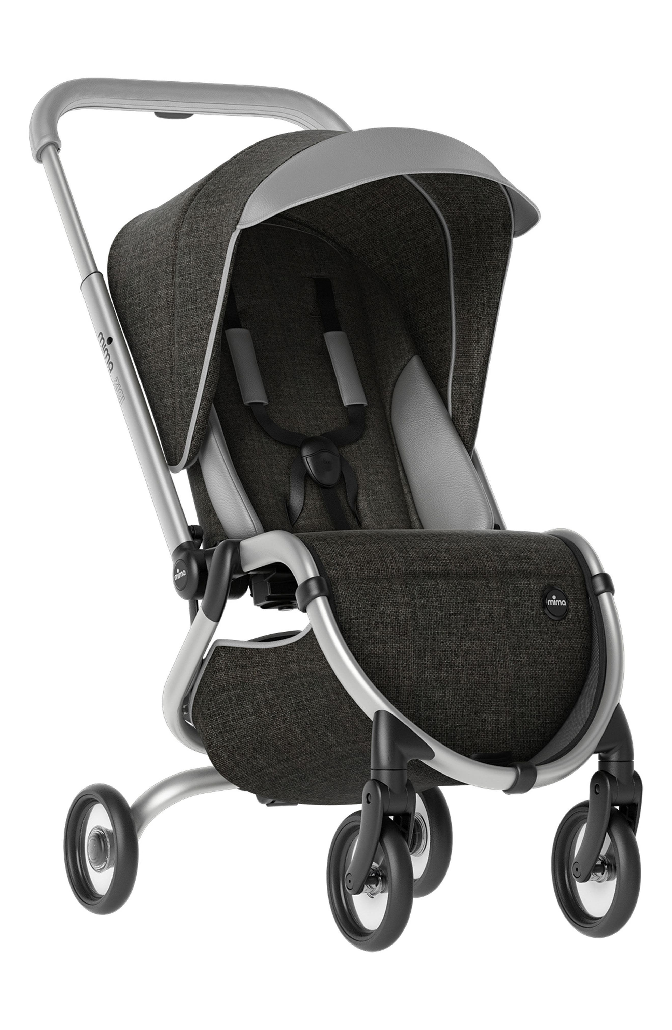 Zigi Travel Stroller, Main, color, CHARCOAL