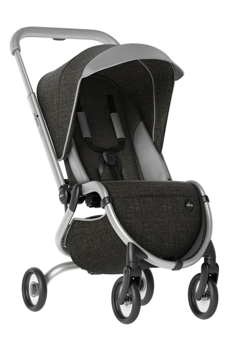 MIMA Zigi Travel Stroller, Main, color, CHARCOAL