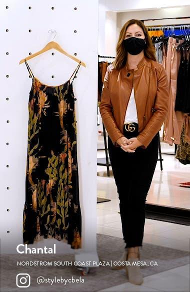 Paola Nolina Crinkle Midi Dress, sales video thumbnail