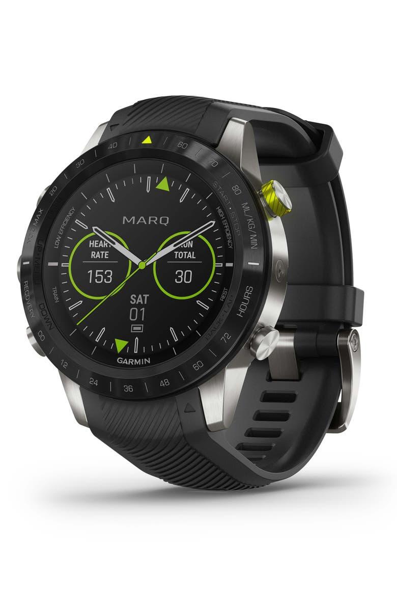GARMIN MARQ Athlete GPS Smart Watch, 46mm, Main, color, 001
