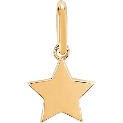 Ef Collection Gold Star Pendant Charm