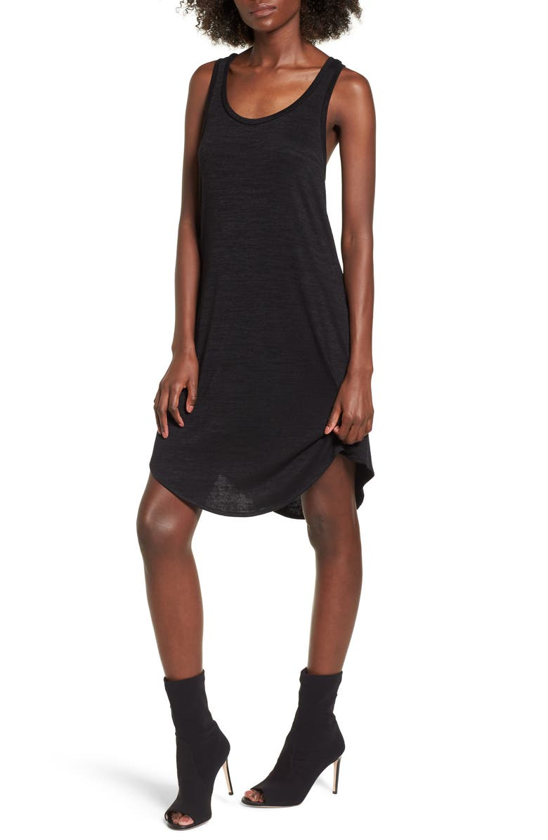 LEITH Tank Shift Dress, Main, color, 001