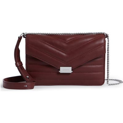 Allsaints Small Justine Quilted Leather Crossbody Bag -